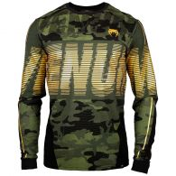 Camiseta de manga larga Venum Tactical - Camo Bosque/Negro