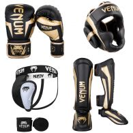 Kick Boxing Pack Elite Black Gold 1
