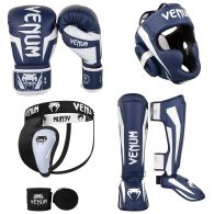 Kick Boxing Pack Navy White 1