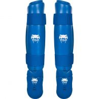 Venum Karate Shin Pad & Foot Protector - Approved by EKF - Blue