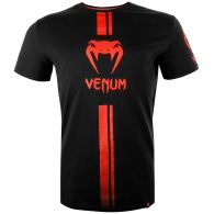 Venum Logos T-shirt - Zwart/Rood