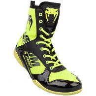 Chaussures de boxe Venum Elite VTC 2 Edition - Jaune fluo/Noir