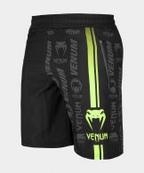 Fitness-Shorts Venum Logos - Schwarz/Neongelb