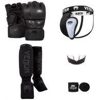 Venum MMA Challenger Bundle V2 - Black/Black