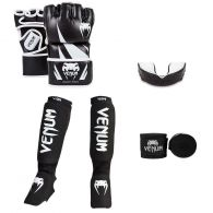 Venum MMA Challenger Bundle - Black/White