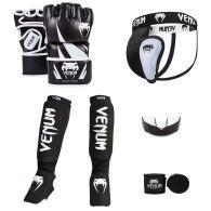 Pack MMA Venum Challenger V2 - Noir/Blanc