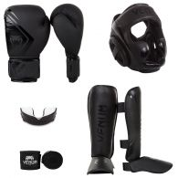 Venum Contender 2.0 Full 1 Bundle - Black/Black