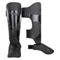 Ringhorns Charger Shin Guards Insteps - Black/Black