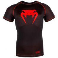 T-shirt de compression Venum Contender 3.0 - Manches courtes - Noir/Rouge