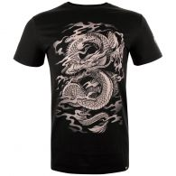 Camiseta Venum Dragon's Flight - Negro/Arena