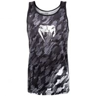 Camiseta sin Mangas Venum Tecmo – Gris Oscuro