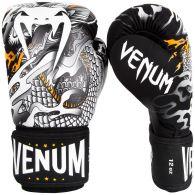 Gants de boxe Venum Dragon's Flight - Noir/Blanc