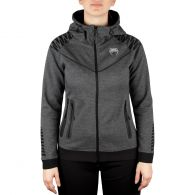 Venum Laser Hoodie - Dark Heather Grey - For Women - Exclusive