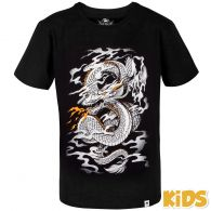 T-shirt Enfant Venum Dragon's Flight Kids - Noir/Blanc