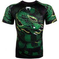 Rashguard Venum Green Viper - Maniche corte - Nera/Verde