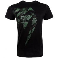 Venum Tecmo Giant T-Shirt - Schwarz/Khaki