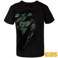 Venum Tecmo Giant T-Shirt - Kids - Schwarz/Khaki