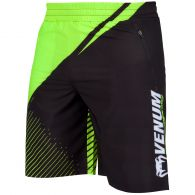 Venum Training Camp 2.0 Fitness Shorts - Schwarz/Neongelb