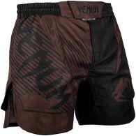 Pantaloncini da combattimento Venum NoGi 2.0 - Neri/Marroni