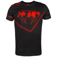 T-shirt Venum Okinawa 2.0 - Nero/Rosso