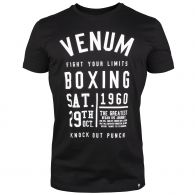 T-shirt Venum Knock out - Nero