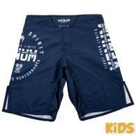Venum Signature Kinder Kampfshorts - Marineblau