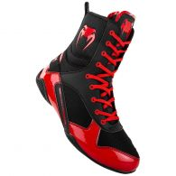 Chaussures de boxe Venum Elite - Noir/Rouge