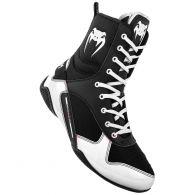 Chaussures de boxe Venum Elite - Noir/Blanc