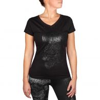 T-shirt Femme Venum Santa Muerte 3.0 - Noir/Noir