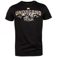 T-Shirt Underground King Venum - Nero/Sabbia
