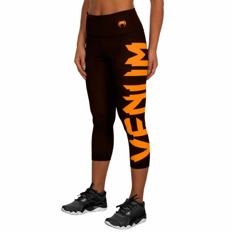 Venum Giant Kurze Leggings - Schwarz/Orange