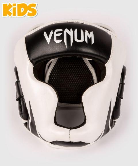 Casco da boxe Venum Challenger - Per bambini - Bianco/Nero
