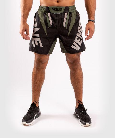 Pantaloncini da combattimento ONE FC - Nero/Cachi