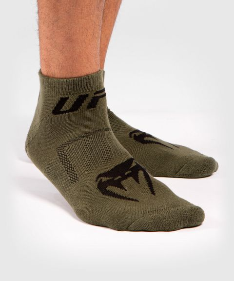 UFC Venum Authentic Fight Week Unisex Performance Socken 2er-Set - Khaki