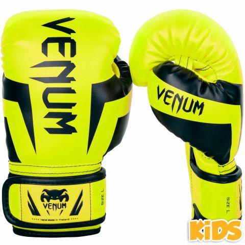 Venum Elite Handschuhe Kids - Exklusiv - Neongelb