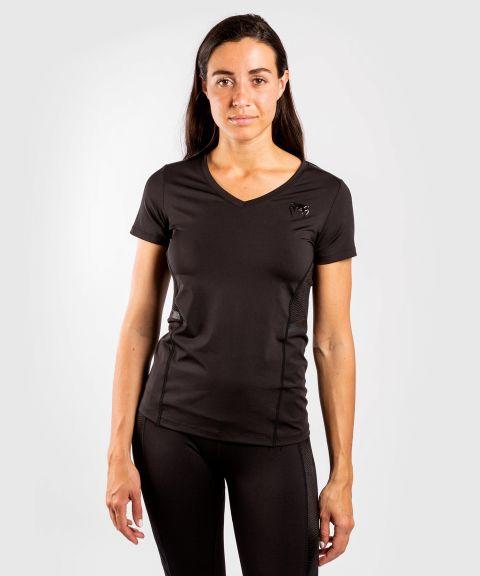 T-shirt Dry-Tech Venum G-Fit - Pour Femmes - Noir/Noir