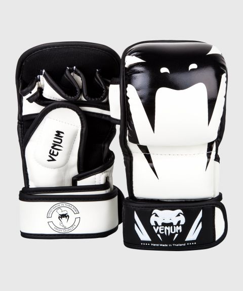 Venum Impact Sparring MMA Gloves - White/Black