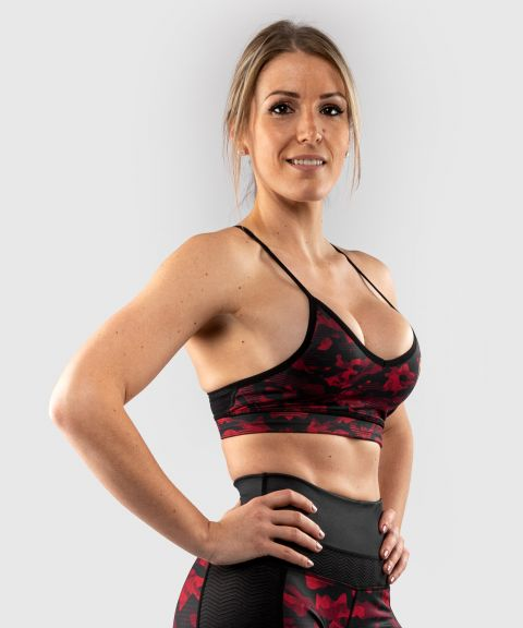Venum Defender bras - for women - Black/Red