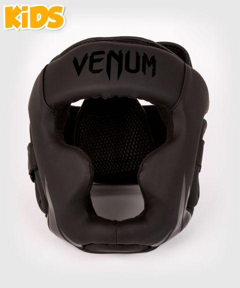 Casco da boxe Venum Challenger - Per bambini - Nero/Nero