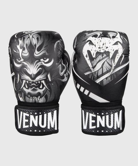 Guantes de Boxeo Venum Devil - Blanco/Negro