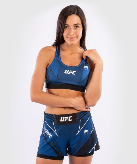 UFC Venum Authentic Fight Night Damen Sport-BH - Blau