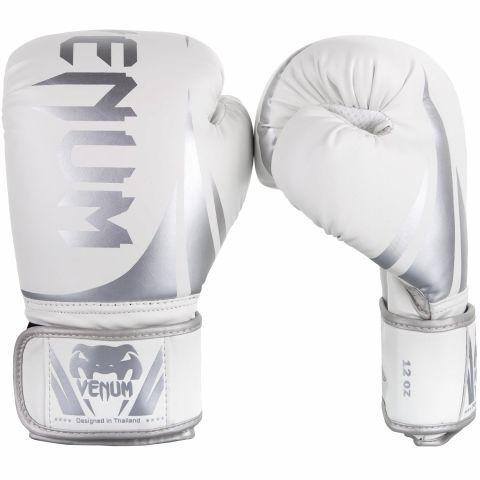 Gants de boxe Venum Challenger 2.0 - Blanc/Argent