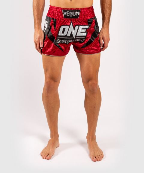 Shorts de muay thai Venum x ONE FC - Rouge