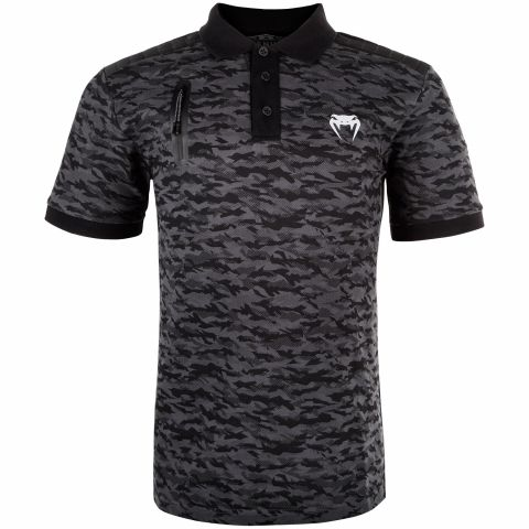 Venum Laser Polo-Shirt - Camo dunkel