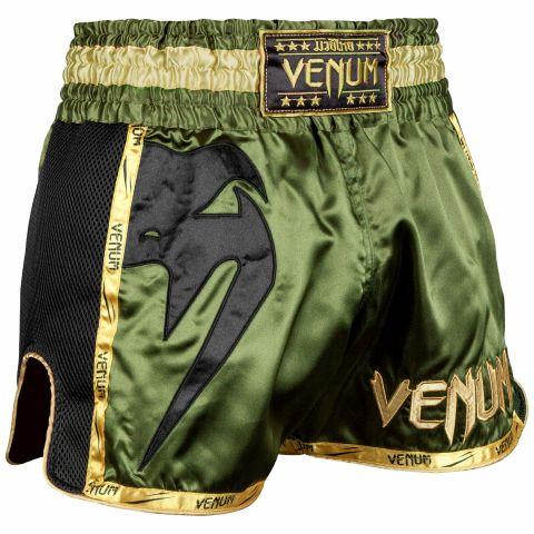 Venum Giant Muay Thai Shorts - Kaki/Zwart