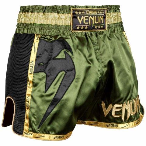 Muay Thai Shorts Venum Giant - Khaki/Schwarz