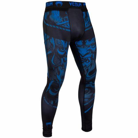 Pantalon de Compression Venum Devil - Bleu marine/Noir