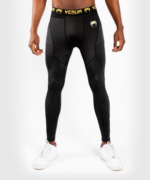 Pantalon de Compression Venum G-Fit - Noir/Or