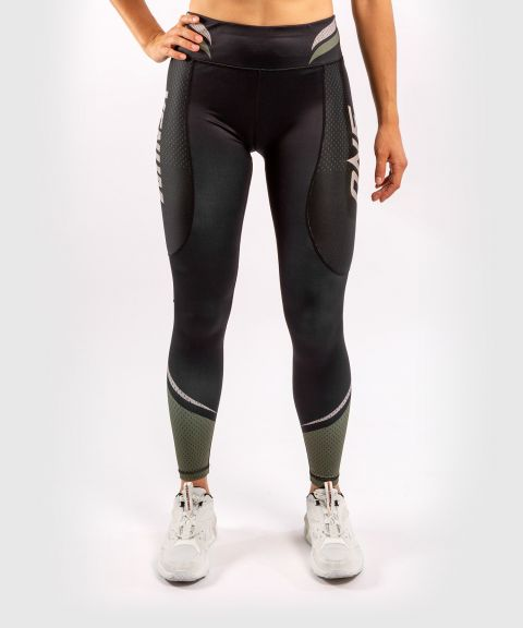 ONE FC Impact Leggings - Frauen - Schwarz/Khaki