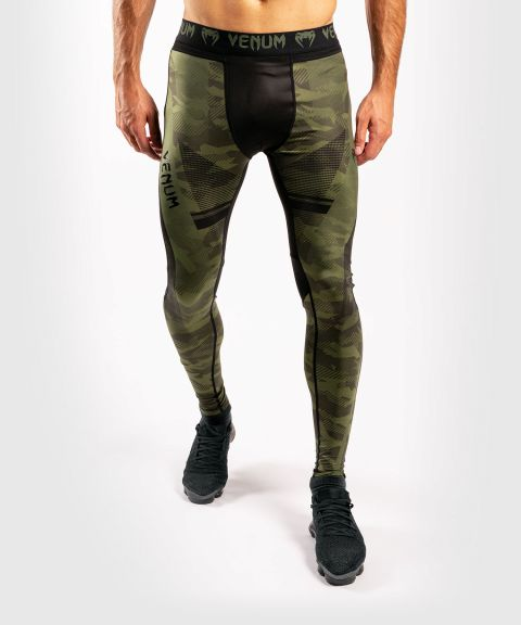 Pantalon de compression Venum Trooper - Forest Camo/Noir